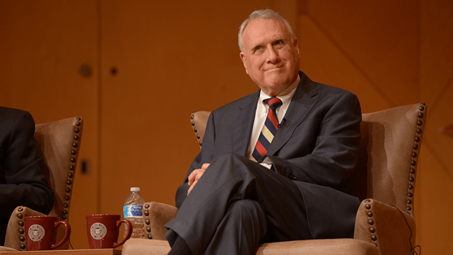 Senator Jon Kyl teaching at Arizona State University